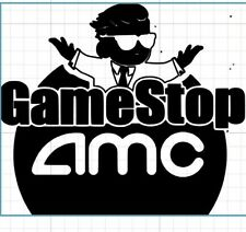 Stock market stickers. Bulls. Bears. Decals. Any color,gamestop amc to the moon