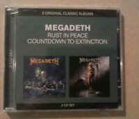Megadeth - Classic Albums (Countdown to Extinction/Rust in Peace) New & Sealed.