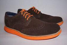COLE HAAN original Grand Wingtip men's shoe size 11,brown/orange,comfort,new