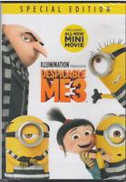 DESPICABLE ME 3 (DVD, 2017) NEW