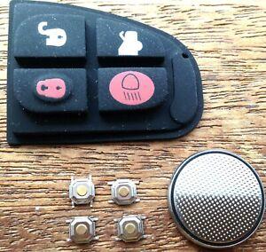 for Jaguar X S XJ XK XJR Type 4 Button Remote Key Fob Case Repair Refurb Kit