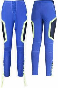 Puma x Rihanna Fenty Womens Mesh Track Pant Leggings Tight Blue 577305 01 RW105