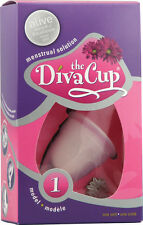 DIVA CUP Reusable Menstrual Cup - Model 1 or 2 or Wash