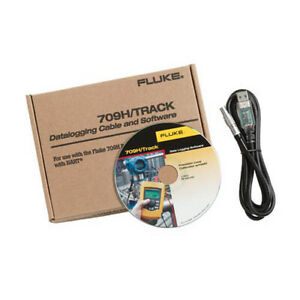 Fluke 709H/TRACK Data Logging Software and Cable for Model 709H