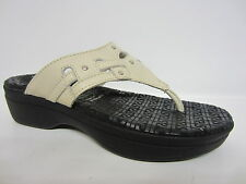 Rockport k61179 Sandalia para mujer crema fanessa Remache TANGA Slide UK3 (R14)