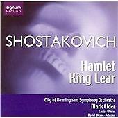 Shostakovich - Hamlet, Op 32; King Lear, Op 58a, , Very Good