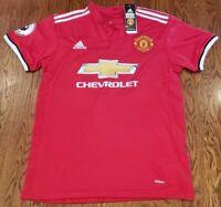Adidas Manchester United CHICHARITO #14 Home Football Soccer Jersey Shirt Sz M