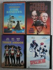 (4) DVD lot: 3 Stooges-The Early Years + TIME BANDITS + 3 Amigos + SPIES LIKE US