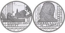1652 Gezicht op Delft - 1622-1654 Carel Fabritius - .800 Zilver, 9,5 gram