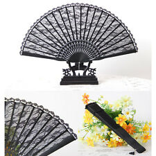 Spanish Style Favor Fancy Dress Black Folding Pocket Wedding Party High Quality