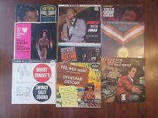 LOT of 9 Jazz LP Records Bobby Dukoff Ted Heath Jonah Jones Red Nichols PLUS