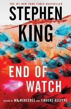 End of Watch by Stephen King (2016,) HARDCOVER BOOK  BRAND NEW