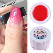 Opal Jelly Nail/LED UV Gel Polish Semi-transparent Pink Soak Off Manicure