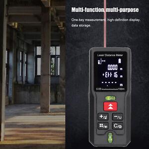 100M Hand‑Held Laser Rangefinder Digital Distance Meter Measuring Tool