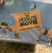 2015 Niue 1 oz Silver Peanuts Movie Proof 4 Coin Set (Very Rare) 2,500 minted !