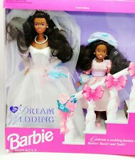Vintage Barbie Dream Wedding Limited Edition mBarbie and Stacie 1993 - rare NRFB