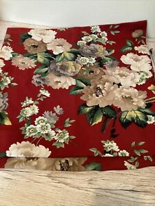 Pair Vintage Cushion Covers Shabby Chic Floral Roses