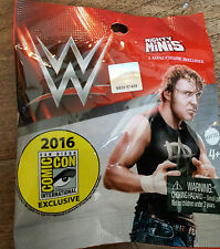 2016 SDCC COMIC CON EXCLUSIVE MATTEL WWE WWF MIGHTY MINIS FIGURE DEAN AMBROSE