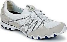 Skechers Women's Cream Biker Shoes Size 6