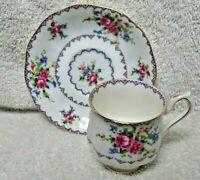 Royal Albert Petit Point  Demitasse Cup and Saucer