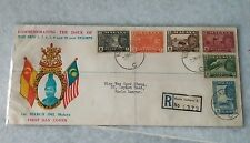 Malaya Selangor 1962  New Sultan New 6v stamp set Private FDC