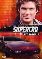 SUPERCAR Stagione 4 6 dvd serie 4 fuori catalogo knight ryder