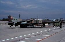 Original colour slide MiG-23UB Flogger '66' of Russian Air Force