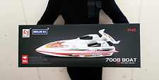 """RTR 28"""" SYMA RC RADIOCOMANDATO ELETTRICO 7008 Blue Streak RACING veloce Velocità Barca"""