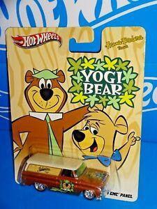 Hot Wheels Nostalgia Pop Culture Hanna-Barbera Yogi Bear '64 GMC Panel Brown