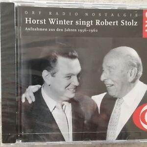 HORST WINTER singt Robert Stolz 1956-1962  (CD ORF 169 / neu)