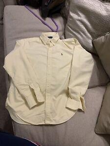 Ralph Lauren Ladies Oxford Shirt Size Large UK 14
