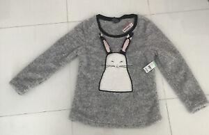Joe Boxer Juniors' Fleece Bunny Sleepwear Top size M