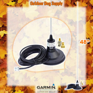 "Garmin Alpha & Astro 48"" Long Range Magnetic Mount Antenna & 2PC Quick Connect"