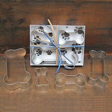 Four Piece Dog Bone Cookie Cutter Set - FREE SHIPPING