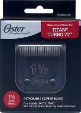 Genuine OSTER Diamox Blade Size 1 1/2 For 76 Titan Turbo 76918-676 ANTIMICROBIAL