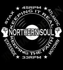 Northern Soul Camiseta de homenaje hombres y mujeres AÑOS 60 Música