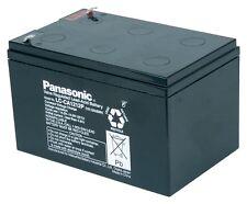 Panasonic Bleiakku  12V/12Ah LC-CA1212P1  Faston 6,3mm, zyklenfest, 1000+ Zyklen