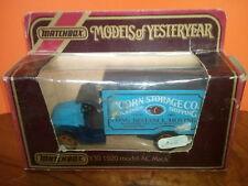 MATCHBOX MODEL AC MACK 1920  + BOITE
