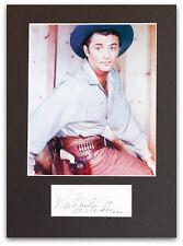 Robert Mitchum Genuine Autograph - UACC / AFTAL.