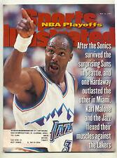 May 12 1997 Karl Malone Utah Jazz Basketball Sports Illustrated Vintage HOF OLD