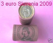 3 euro 2009 SLOVENIA Slovénie Slowenien Rusjan Slovenië Словения Eslovenia