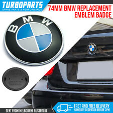 74MM BLUE WHITE BMW BADGE EMBLEM ROUNDEL REPLACEMENT TRUNK HOOD E46 E90 F32 F30