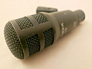 Audix Fusion Series F12 Snare Tom Kick Bass Drum Mic Microphone WORKS GREAT