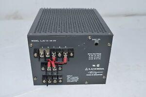 Lambda LJS-12-24-OV Adjustable Power Supply 105-132 VAC 47-440Hz 130-160VDC