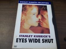 Eyes Wide Shut Dvd Region 4 Vgc Kubrick Quick And Free Shipping !