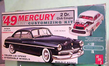 AMT 1949 Mercury Club Coupe Original 1963 Issue Customizing Kit in Box 49