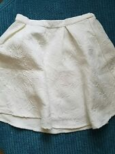 monsoon girl 7-8 8 years white skirt formal party