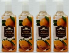 4 Bath & Body Works SWEET TANGERINES Deep Cleansing Hand Wash Soap