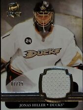 """2011-12 UPPER DECK  """"THE CUP""""  -  JONAS HILLER GAME USED JERSEY  #7/25!!!"""