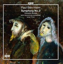 Paul Ben-Haim: Symphony No. 2 & Concerto Grosso [New CD]